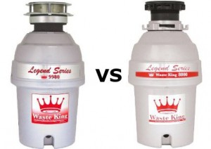 Waste King L-8000 vs waste king 9980